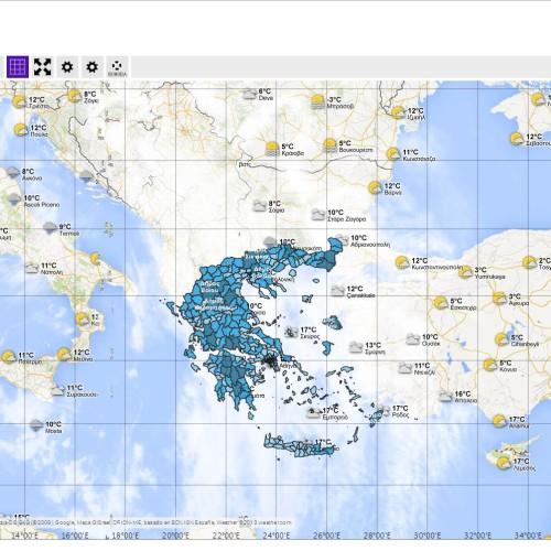GIS Περιφέρειας Αν.Μακεδονίας Θράκης